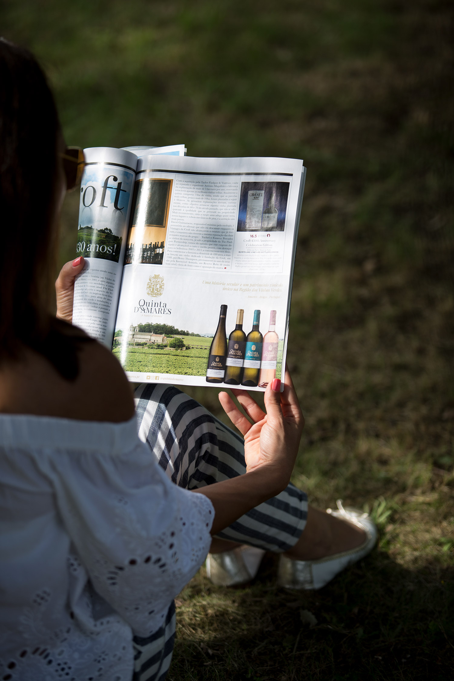 Quinta D´Amares Advertising in Magazine Vinho Grandes Escolhas 2018