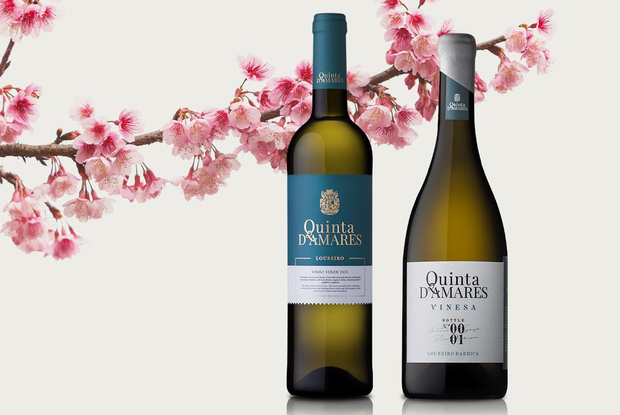 Quinta D´Amares Loureiro e Quinta D'Amares Vinesa premiados nos Sakura Japan's Women's International Awards 2021